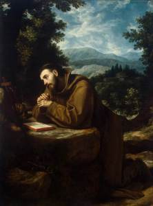 St Francis of Assisi by Cigoli, 1600